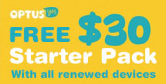Free-Optus-30-starter-pack-with-all-Renewed-Devices